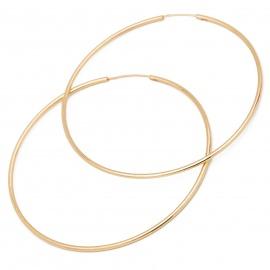 Złote Kolczyki Koła 6,5cm